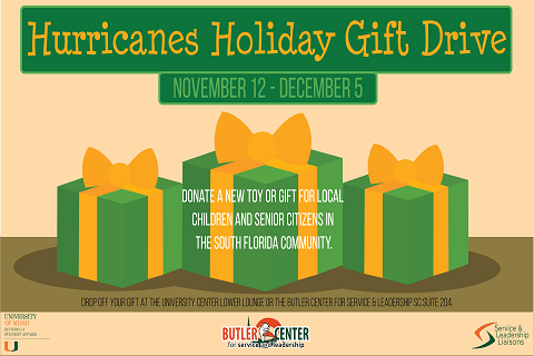 Hurricanes Holiday Gift Drive